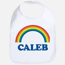 CALEB (rainbow) Bib