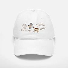 dog cone larry mug 2 Baseball Baseball Cap
