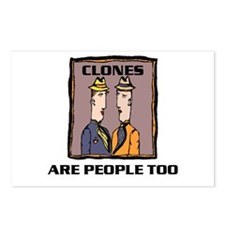 CLONES Postcards (Package of 8)