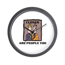 CLONES Wall Clock