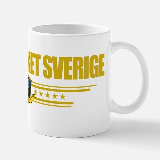 Sweden (Flag 10) pocket Mug