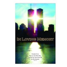 TWIN TOWERS POSTER FOR AL Postcards (Package of 8)