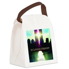 TWIN TOWERS POSTER FOR ALEX 7 1 2 Canvas Lunch Bag