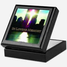 TWIN TOWERS POSTER FOR ALEX 7 1 2011 Keepsake Box