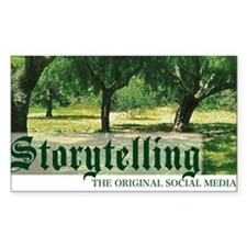storytelling the orig soc medi Decal