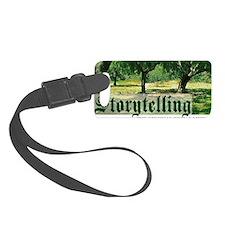 storytelling the orig soc media Luggage Tag
