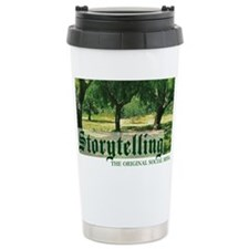 storytelling the orig soc media Travel Mug