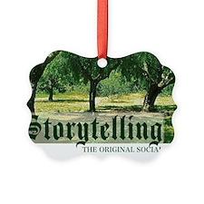 storytelling the orig soc media Ornament
