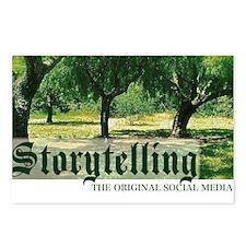 storytelling the orig soc Postcards (Package of 8)