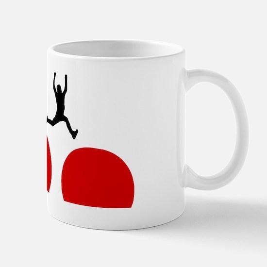 wipeout-red-balls Mug