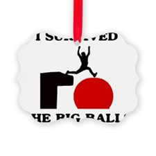 survived-big-balls Ornament
