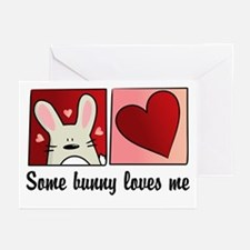 some bunny loves me Greeting Cards (Pk of 10)