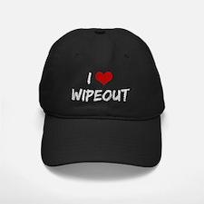 i-love-wipeout-vint Baseball Hat