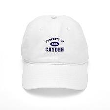 Property of cayden Baseball Cap
