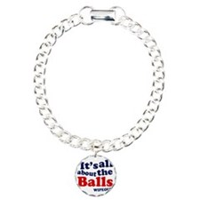 its-all-about-th-eballs Charm Bracelet, One Charm