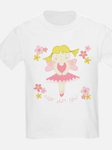 Sugar Plum Fairy Flower Kids T-Shirt