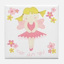 Sugar Plum Fairy Tile Coaster