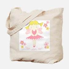 Sugar Plum Fairy Flower Tote Bag