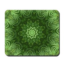 Marijuana Leaf Mousepad