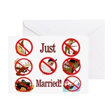 married Greeting Card