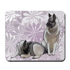 elkies in the garden blanket Mousepad