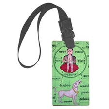 yoga-2 Luggage Tag