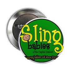 "Wearing_Babies_Out_Since_2006 copy 2.25"" Button"