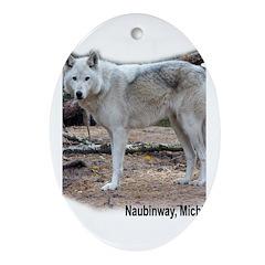Naubinway, Michigan Oval Ornament