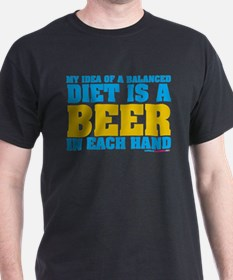 My Idea Of A Balanced Diet Is A Beer T-Shirt