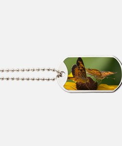 skippers-1-yellow-bkg Dog Tags