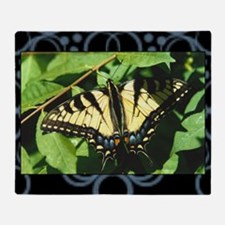 swallowtail-butterfly Throw Blanket