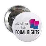 "My Other Life Bi 2.25"" Button (100 pack)"