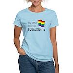 My Other Life Rainbow Women's Light T-Shirt