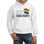 My Other Life Rainbow Hooded Sweatshirt