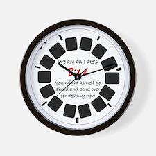 fate Wall Clock
