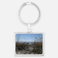 Colonial Beach Landscape Keychain