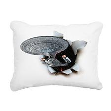 Trek_Skin3 Rectangular Canvas Pillow
