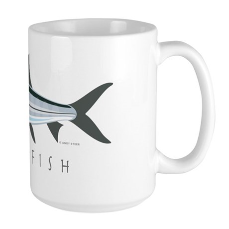 Bonefish_1 Large Mug