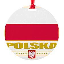 Poland (Flag 10) Ornament