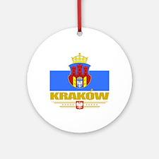 Krakow (Flag 10)2 Round Ornament
