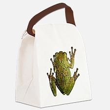FROG_CLEANoutline Canvas Lunch Bag