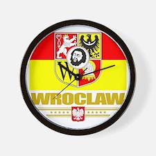 Wroclaw (Flag 10) Wall Clock