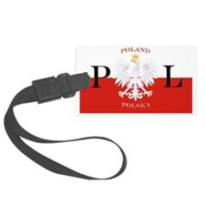 Polska Poland Luggage Tag