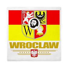 Wroclaw (Flag 10) Queen Duvet