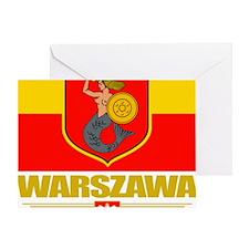 Warsaw (Flag 10) Greeting Card