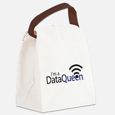 DataQueen Canvas Lunch Bag