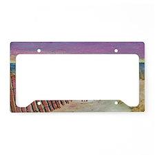 beach set print_edited-1 License Plate Holder