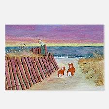 beach set print_edited-1 Postcards (Package of 8)