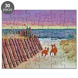 Corgi beach Puzzles