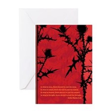 Asian Buddah Wisdom Two Greeting Card